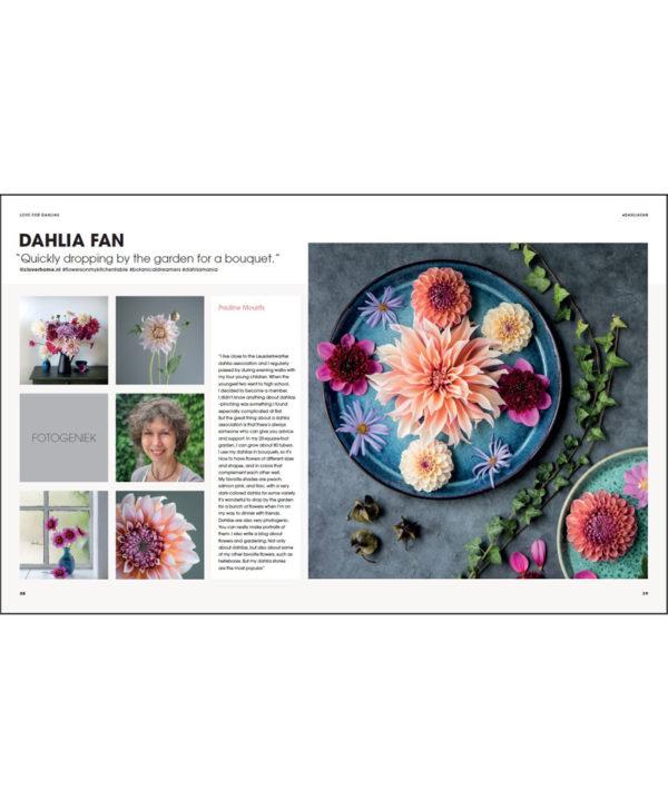The Joy of Dahlias Book by Fam Flower Farm