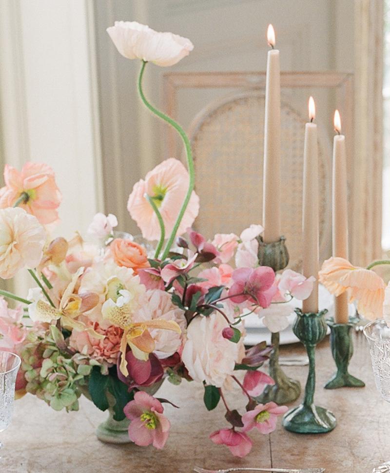campo de' fiori flower vessels