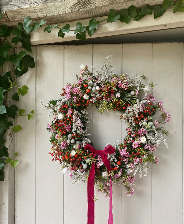 diy holiday wreath kit willow crossley