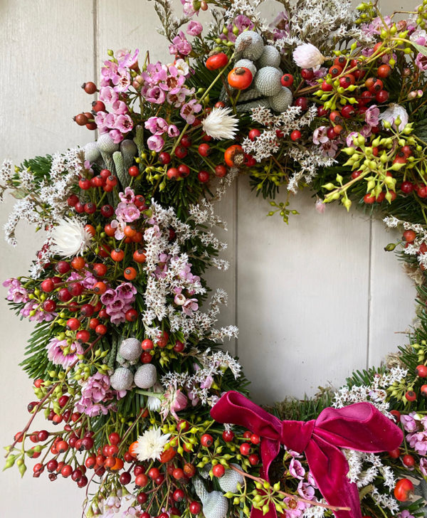 holiday wreath kit willow crossley 2