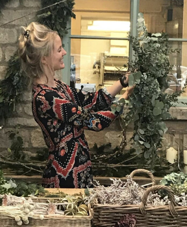 wreath making with willow crossley
