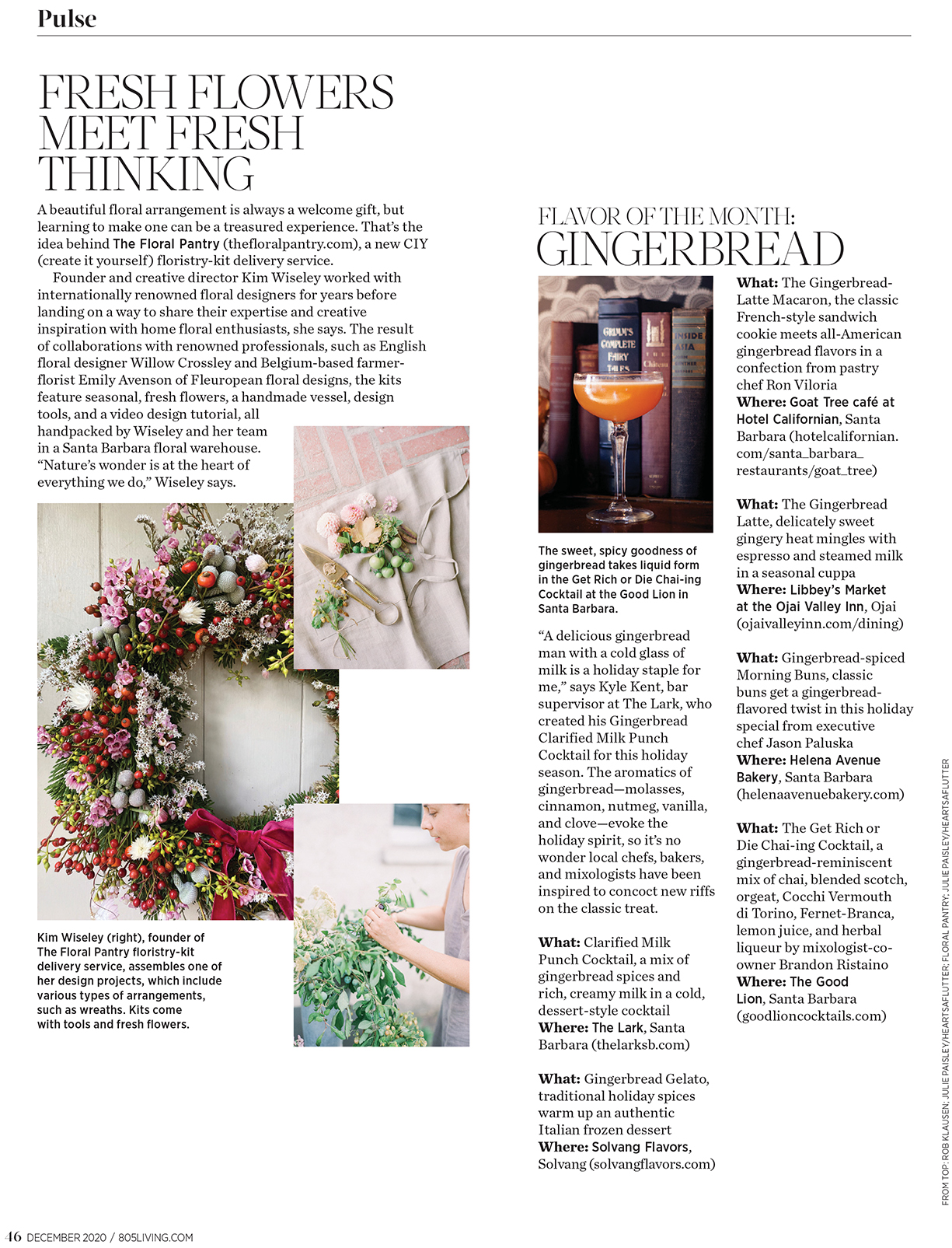 The Floral Pantry - 805 Living