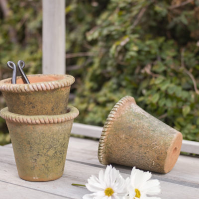 Aged Mecate Planter