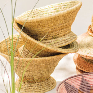 The Floral Pantry Imbenge Basket Vessel
