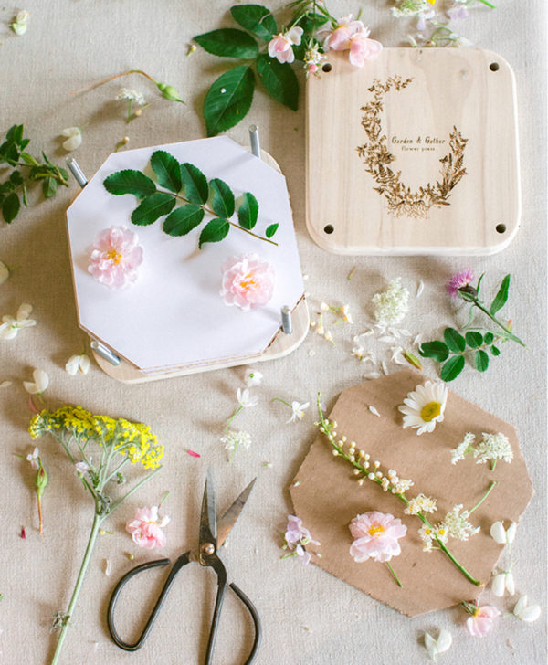 the floral pantry flower press