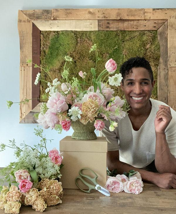floral design workshop with Kristen Griffith-VanderYacht