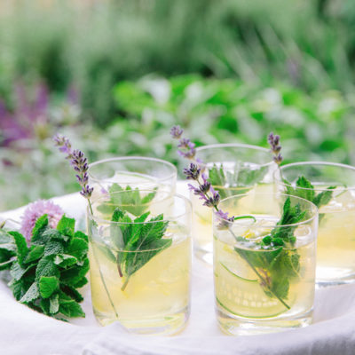 Botanical Gin Cocktail