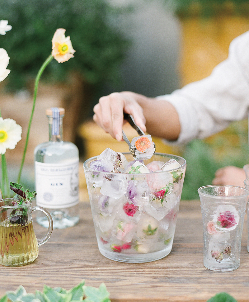 The Floral Pantry Floral Ice Recipe